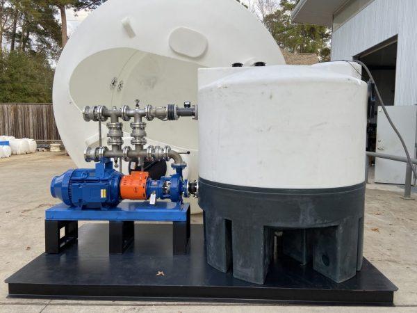 Mixer systems tank